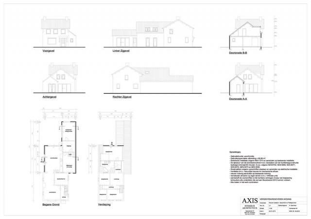 Verbouwing woonhuis Montfort