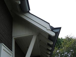Renoveren dakoverstekken Wessem